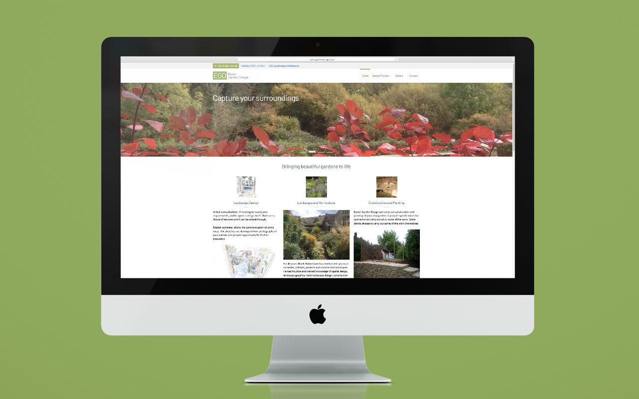 EGD website - desktop version
