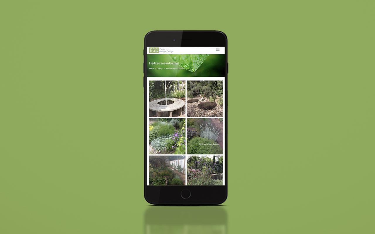 EGD website: mobile version