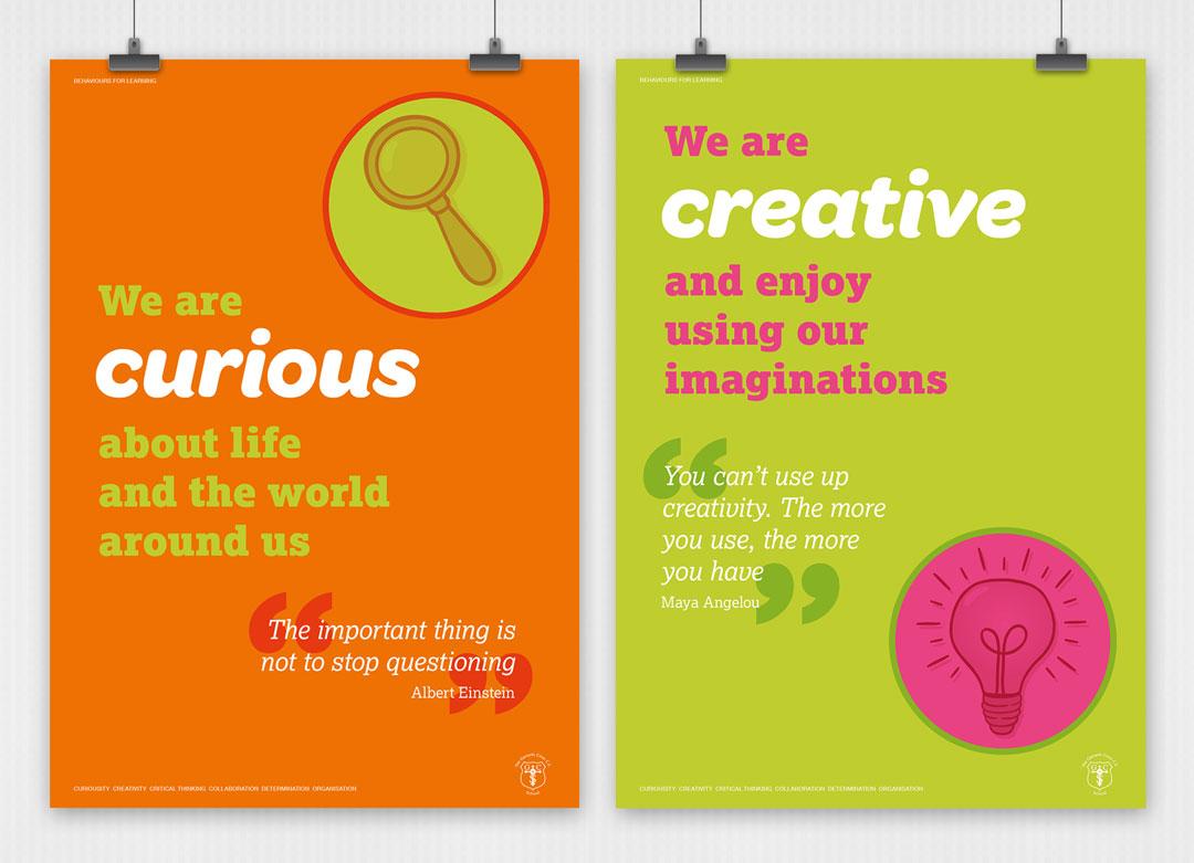School values posters 4