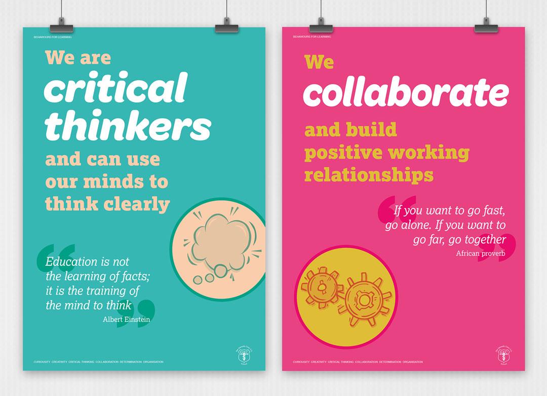 School values posters 5