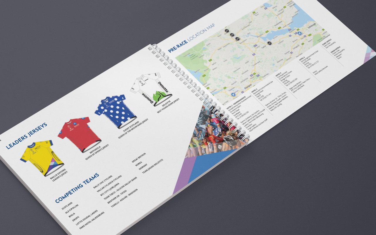 Race Manual inside spread