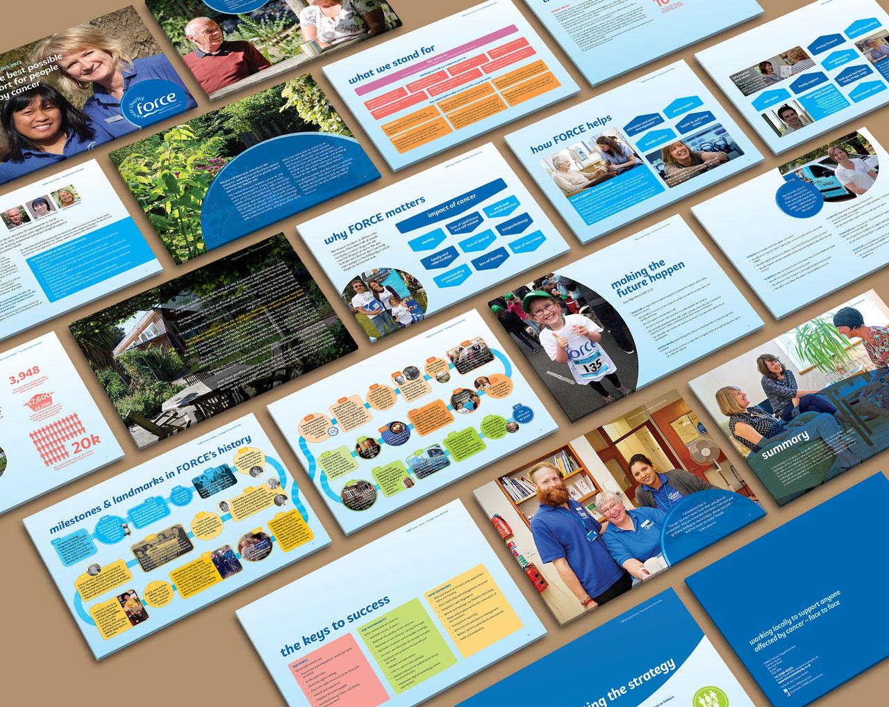 Charity strategic vision deck