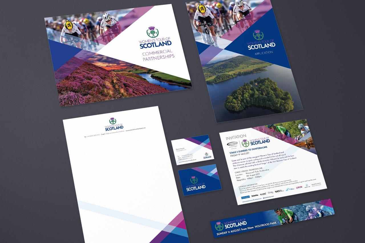 WToS branding - printed items