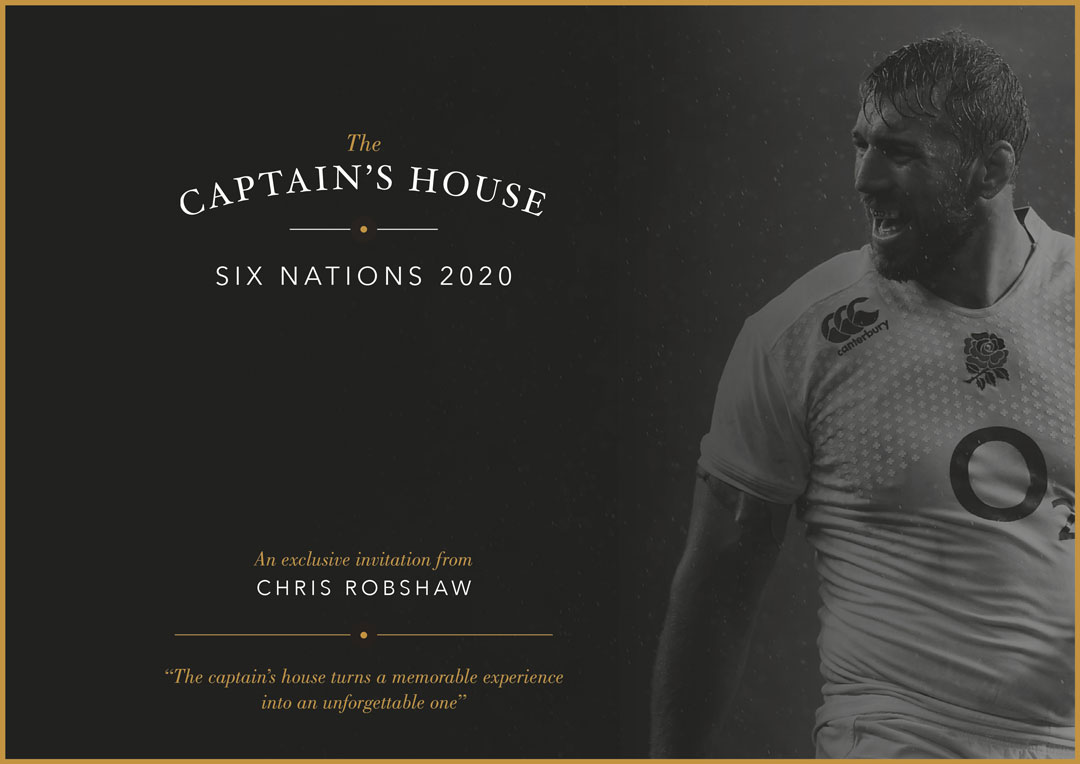 Captain's House flyer front
