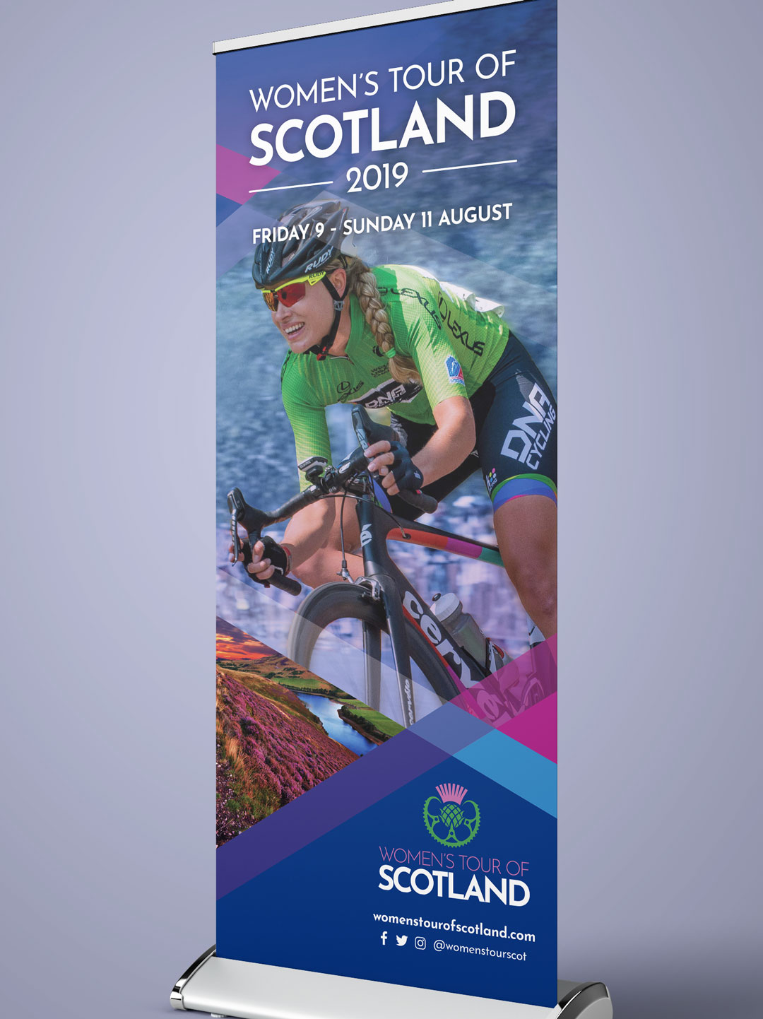 WToS pull-up banner