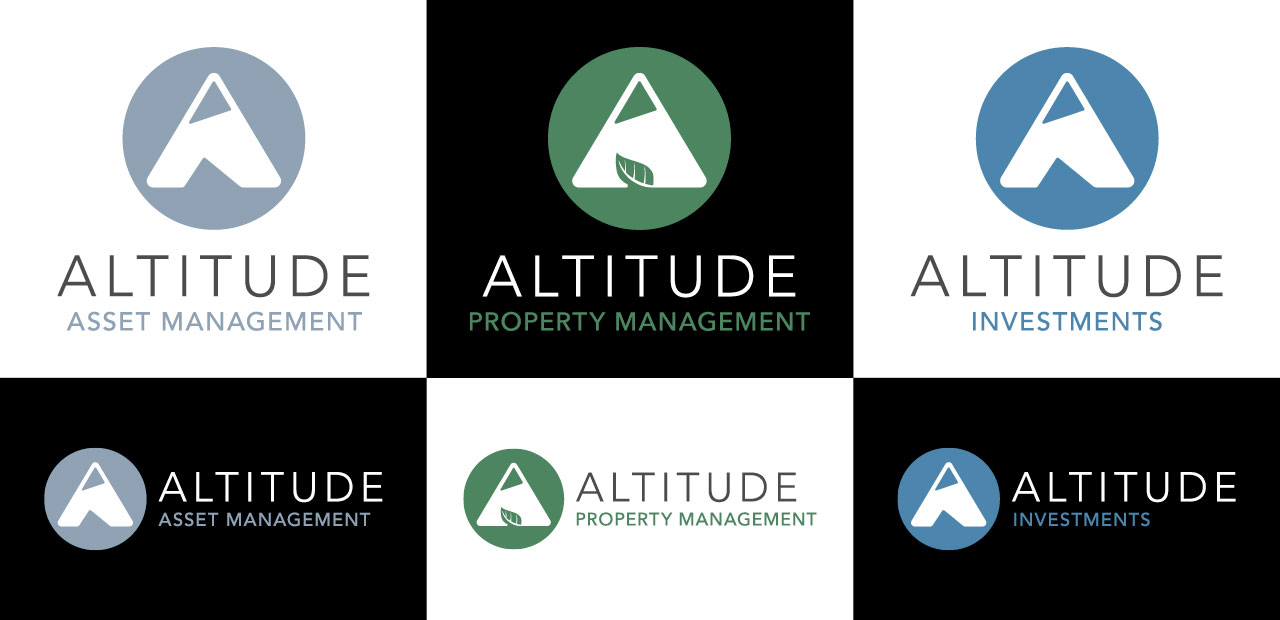 Investment company logo suite