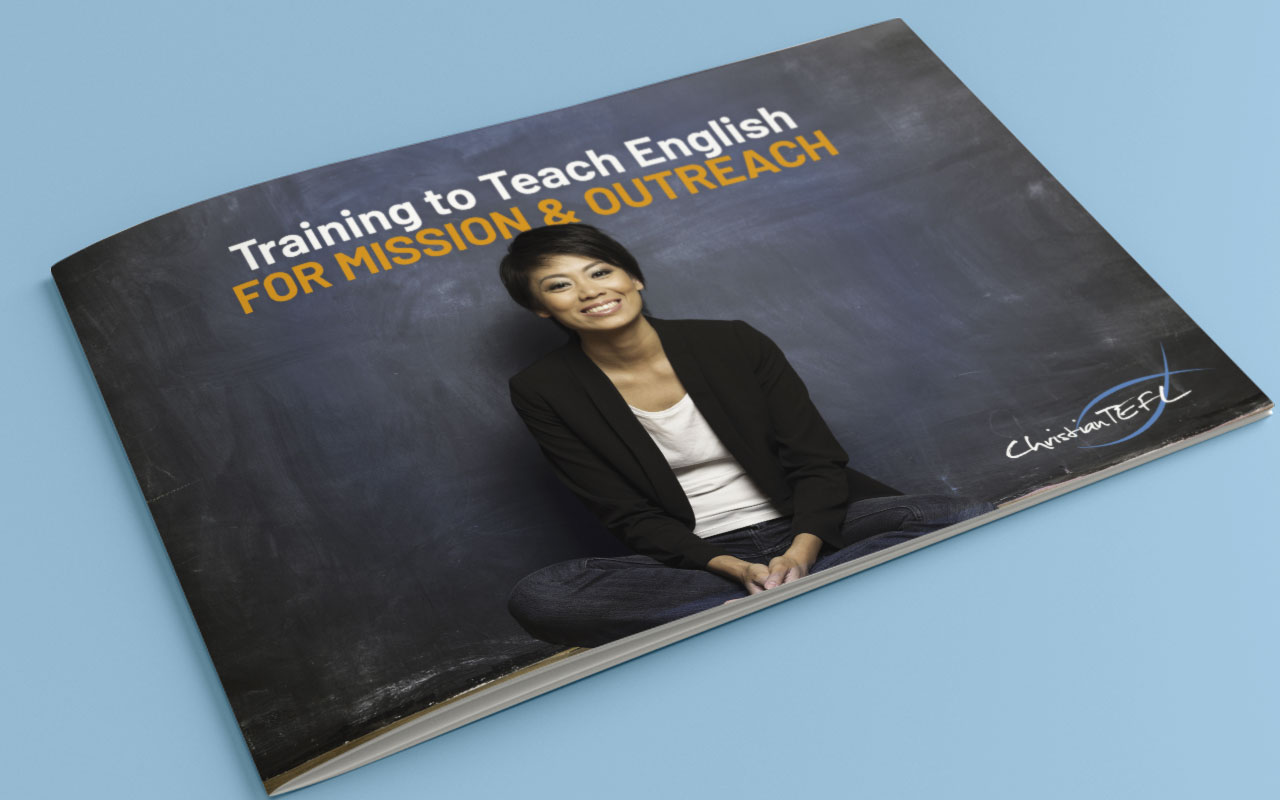 Online learning brochure cover