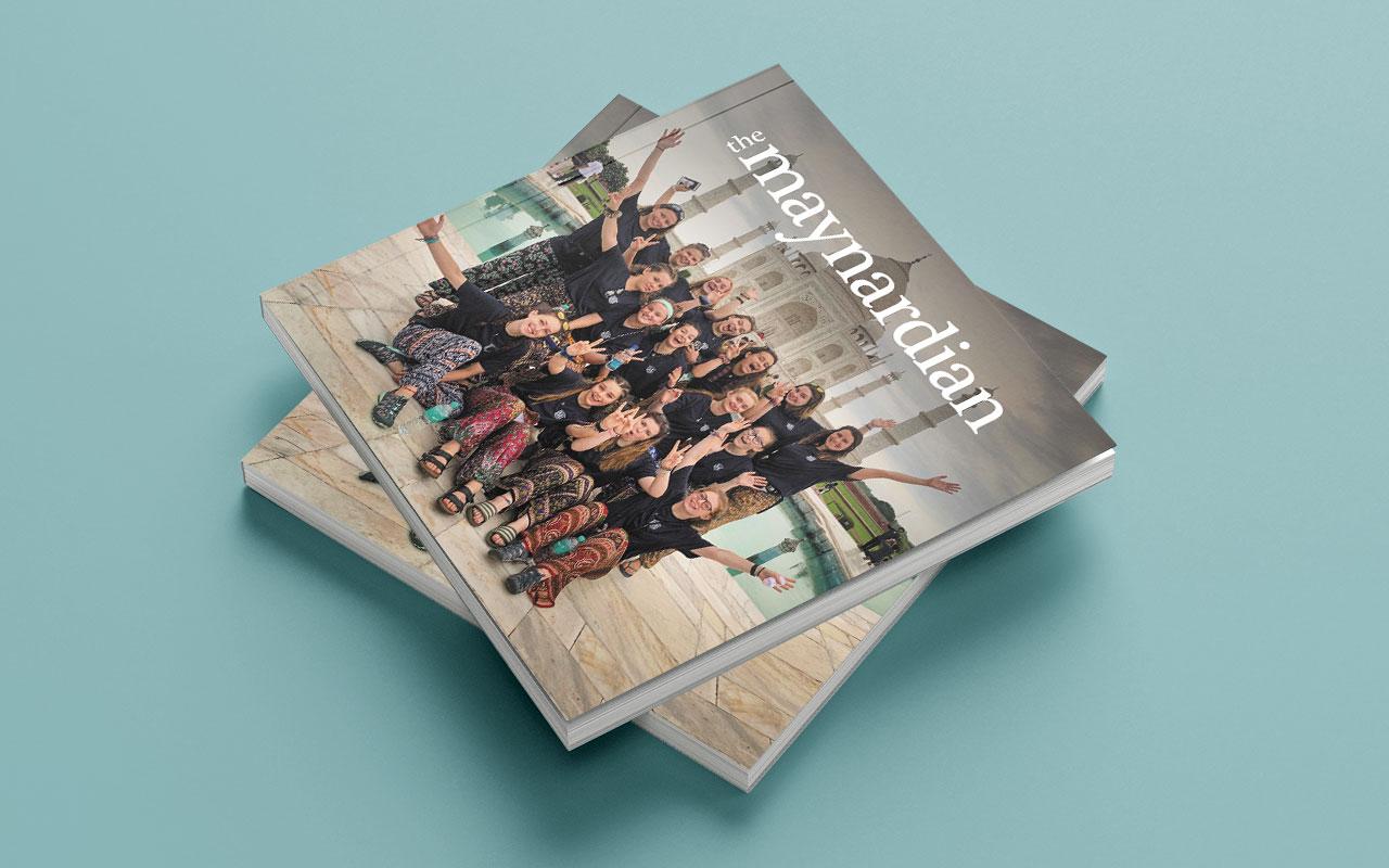 School magazine cover