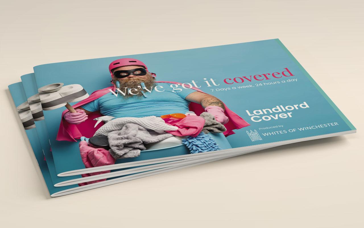 Property management brochure cover